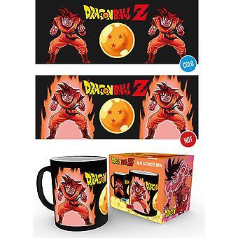 Dragon Ball Z Super Saiyajin 10oz Hitze ändern Mug