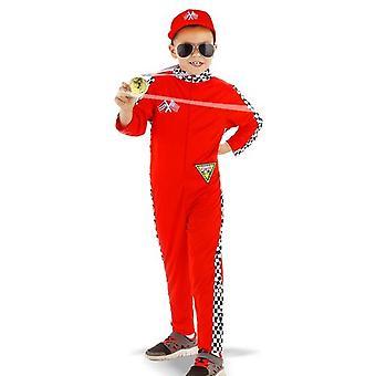 Schumacher kierowca wyścigowy dzieci pioruna kostium kostium dzieci