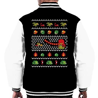 Alex Kidd In Christmas World Men's Varsity Jacket