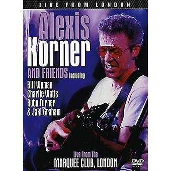 Alexis Korner - Live From the Marquee Club London [DVD] USA import