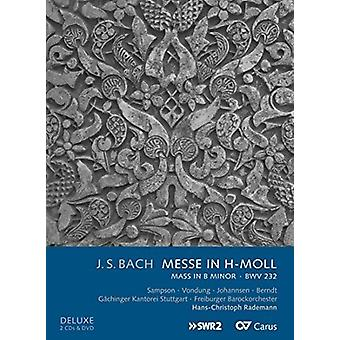 Bach, J.S. / Sampson / Vondung / Johannsen / Berndt - Messe in H-Moll (Mass in B Minor) Bwv 233 [CD] USA import