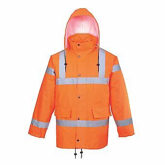 sUw - Hi-Vis turvallisuuden työvaatteet hengittävä radan puolella takki RIS