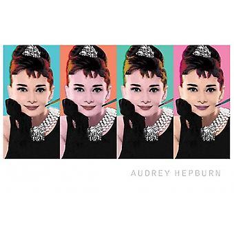 Audrey Hepburn - Pop Art juliste Juliste Tulosta