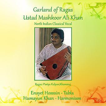 Ali Khan * Ustad Mashkoor / Hossain * Enayet - Ragas Garland [CD] USA tuonti