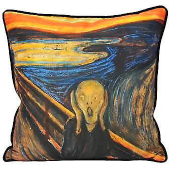 Riva Home Scream Cushion Cover
