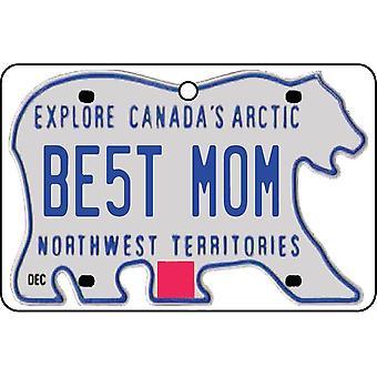 NORTHWEST TERRITORIES - beste moeder kenteken auto luchtverfrisser