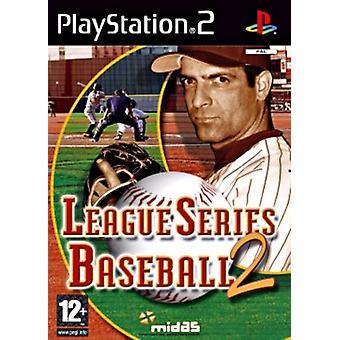 League Series Baseball 2 (PS2) - Ny fabrik förseglad