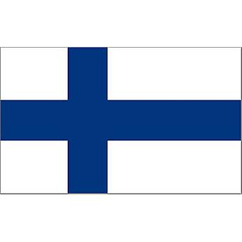 Finland Flag 5ft x 3ft With Eyelets For Hanging
