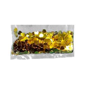 Confetti Gold Hearts bag of 84g