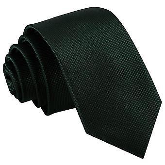 Sólido verde escuro verificar empate magro