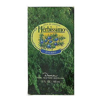 Dana Herbissimo Enebro Agua De Colonia Splash 5,0 Oz/150 ml em caixa