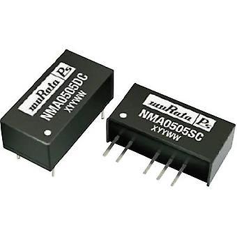 Murata Power Solutions NMA1212SC DC/DC converter (print) 12 V DC 12 V DC, -12 V DC 42 mA 1 W No. of outputs: 2 x