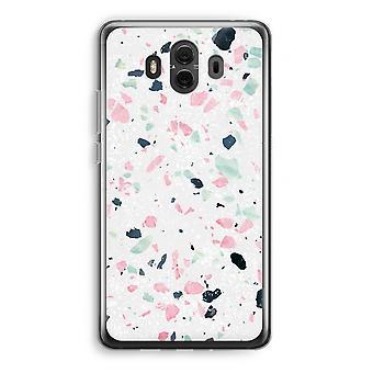Huawei Mate 10 caso transparente (Soft) - Terrazzo N ° 3
