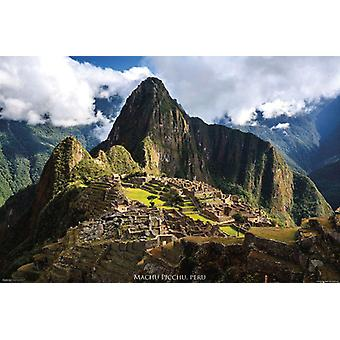 Pérou affiche-Machu Picchu Pérou