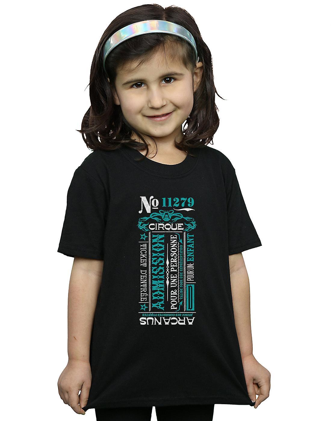 Fantastic Beasts Girls Cirque Arcanus T-Shirt