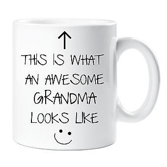 Dit Is een geweldige oma ziet V2 mok