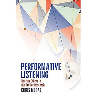 Escucha performativo: Otros la audiencia en la investigación cualitativa