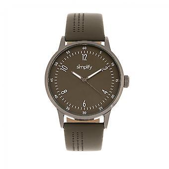 Simplifier le 5700 cuir-bracelet - Olive