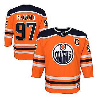 Outerstuff Nhl Edmonton Oilers Connor Mcdavid Home Youth Jersey