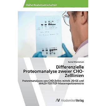 Différentiels Proteomanalyse Zweier ChoZelllinien par Kamal Khorramian