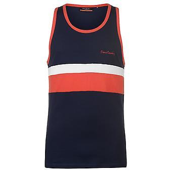 Pierre Cardin Mens Thin Cut and Sew Vest Sleeveless Tank Top T-Shirt T Shirt