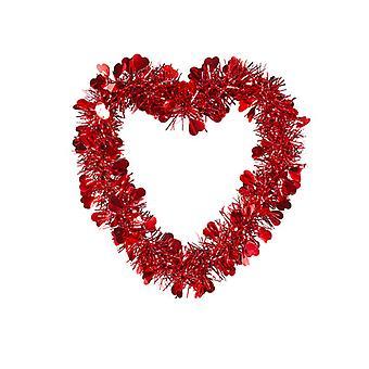 St. Alla hjärtans dag Tinsel Heart