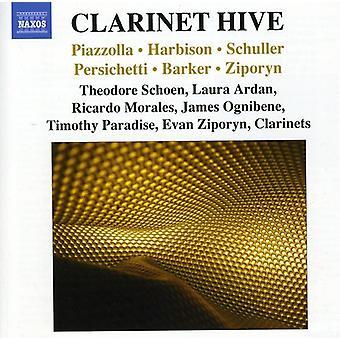 Piazzolla/Harbison/Scholler - klarinett strukturen [DVD] USA import