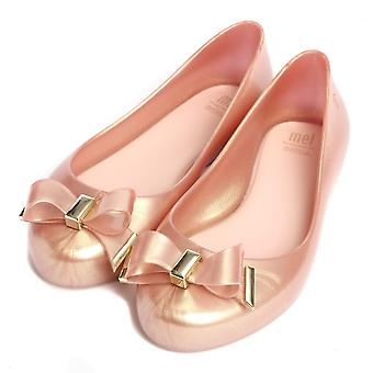 Melissa Shoes  Mini Melissa Kids Space Love 18 Pumps, Rose Gold