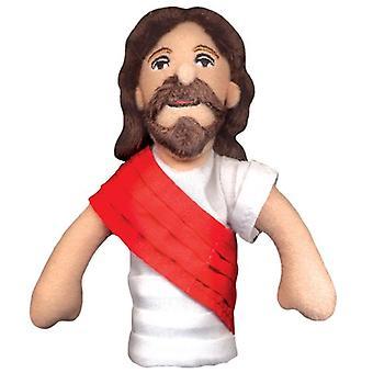 Finger Puppet - UPG - Jesus Soft Doll Toys Gifts Licensed New 0929