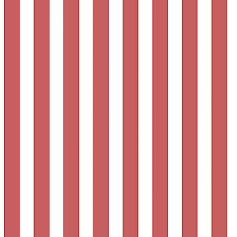 Red White Stripe Wallpaper Children Kids Boys Girls Paste Wall Feature Galerie
