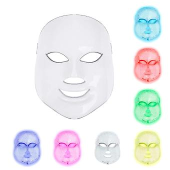 Light Therapy Mask 7 Colours LED Photon Face Mask Beauty Proactive Skin Care (UK Plug)