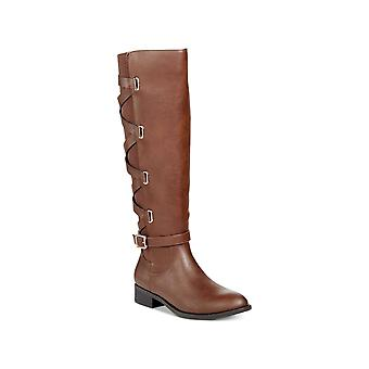 Thalia Sodi Womens Veronika Almond Toe Knee High Fashion Boots