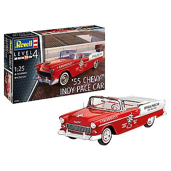 Revell 7686 1:25 '55 Chevy Indy Pace Car Plastic Model Kit