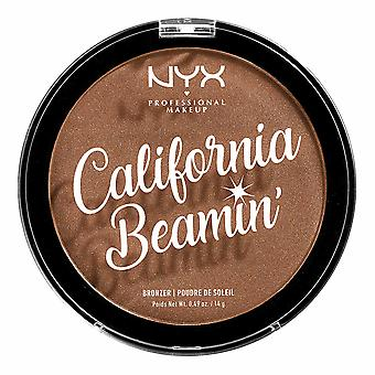 NYX PROF. MAKEUP California Beamin Face & Body bronzer-kultainen valtio