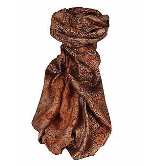 メンズ ジャマワル プレミアム シルク スカーフ パターン 7259 バイ パシュミナ & シルク