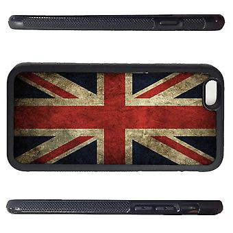 Iphone 6 shell with Rustic Union Jack flag picture Print
