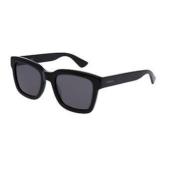 Gucci GG0001S 002 Musta/Harmaa Aurinkolasit