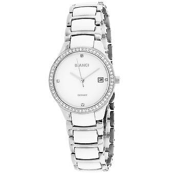 Roberto Bianci Femmes apos;s Balbinus White Dial Watch - RB2943