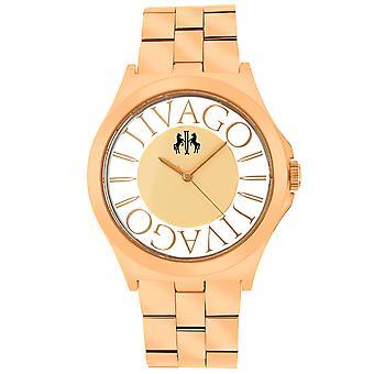 Jivago Women's Fun Rose gold Dial Watch - JV8411