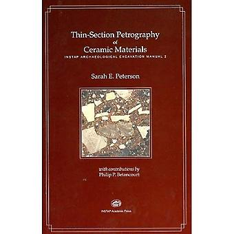 Thin-section Petrography of Ceramic Materials (INSTAP Archaeological Excavation Manual)