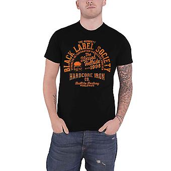 Black Label Society T Shirt Hardcore Hellride Band Logo new Official Mens Black