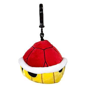Nintendo - Mario Kart - Spinny Red Shell Clip-on Pluszowe towary do gier