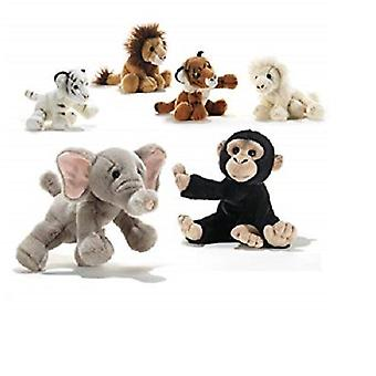 Krugers Jungle Mini Teddies Soft Toy 15cm (Randomly Selected Style)