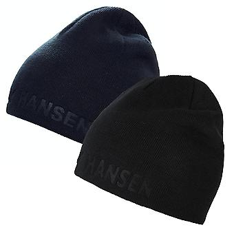 Helly Hansen Mens 2019 Reversible Ribbed Insulated Outline Beanie
