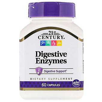 21st century digestive enzymes, capsules, 60 ea