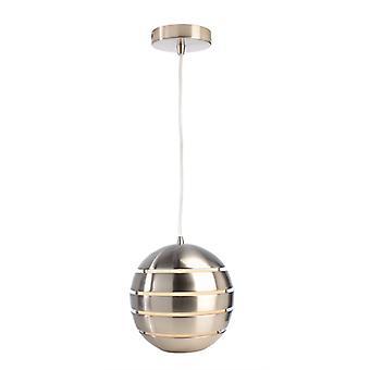 Lampe pendentif Ankaa 280 argent E27 max. 40 W D 280mm métal