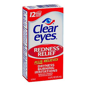 Clear eyes redness relief eye drops, 0.5 oz