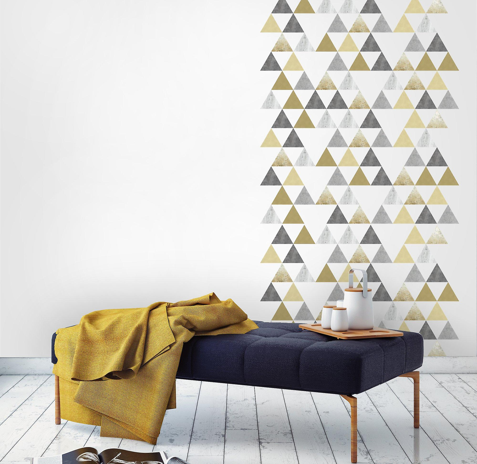 Kalaand small triangle wall decals