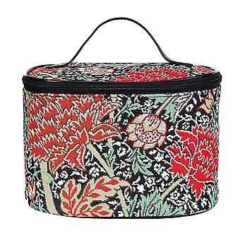 William Morris-die verrückte Make-up-Tasche von signare tapestry/toil-cray