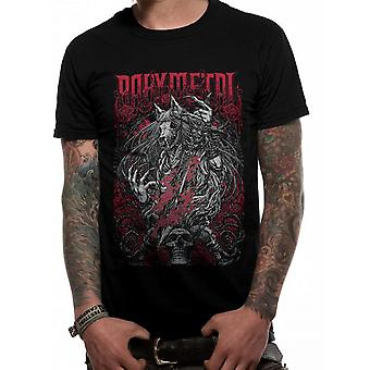 Babymetal Unisex Adults Rosewolf Design T-Shirt